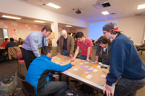 Students at Innovation Center